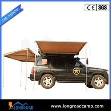 Outdoor sports car side 4x4 side awning with roof top tent
