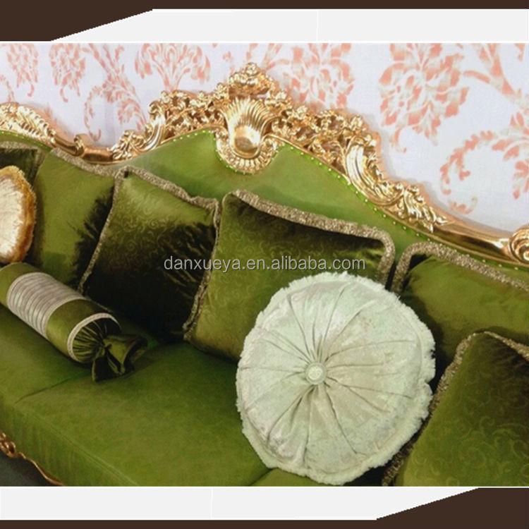 DanXueYa GREEN LEATHER Sofa/sofa Set Dubai Leather Sofa Furniture/italian  Furniture Made In