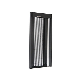 Durable screen doors without bottom rail without bottom track mosquito screen door