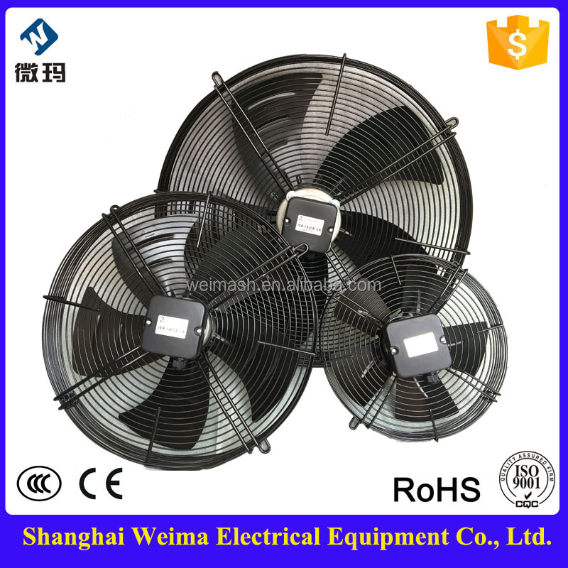 wholesale CHINA new design small IP54 protection class axial fans for central air