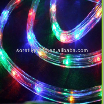 IP65 White Color Changing Led Rope Light For Outdoor Decoration