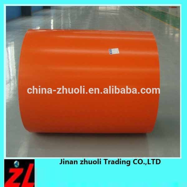 China Popular PPGL /PPGI Steell /Color Coated Galvanized Steel Coil