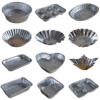 Best Selling All Shapes Disposable Aluminum Foil Tray Cake Baking Cups