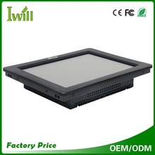 Cheap all in one computer Intel core i3 i5 fanless industrial touch screen panel pc