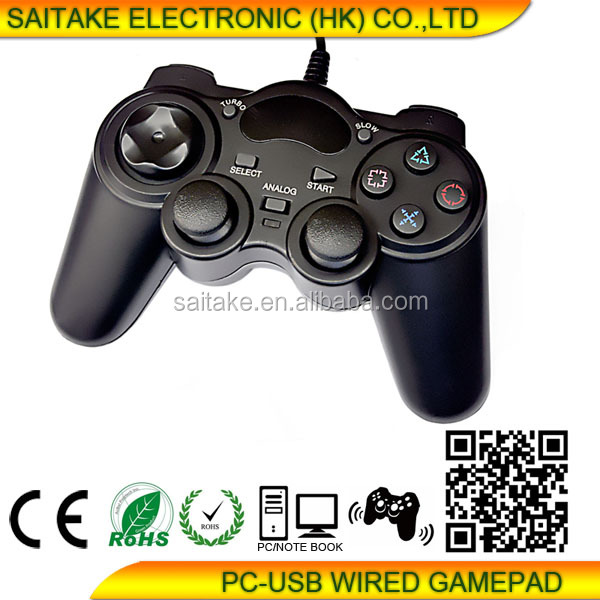 Hot Double Vibration PC Game Controller & Gamepad & Joypad & Joysctick