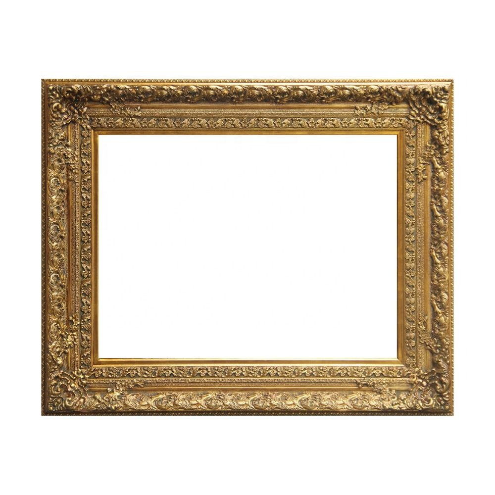 Large Size Gold/Silver <strong>Vintage</strong> Picture <strong>Frame</strong> for Paintings