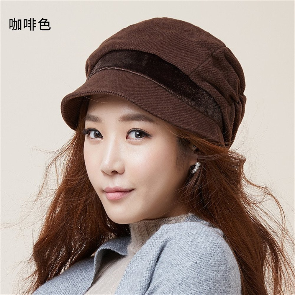 a7faca29db722 The children of autumn and winter fashion Women Hat Beret Cap all-match autumn  autumn tide shellfish ladies