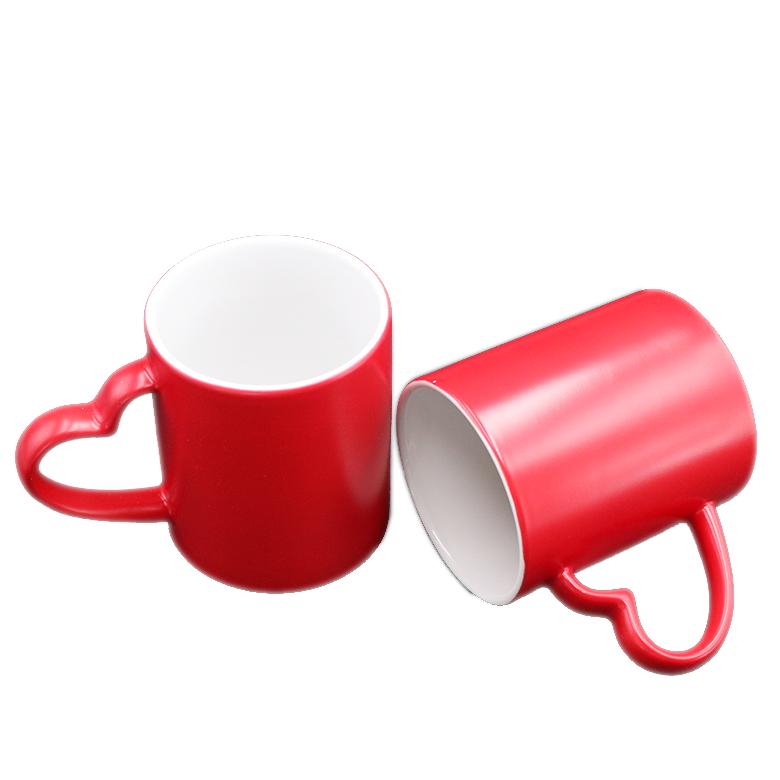 11 Oz Air Panas Warna Changing Sihir Kopi Mug Dengan Jantung Pegangan - Buy  Mug,Cangkir Kopi,Seksi Air Warna Mengubah Mug Product on Alibaba com