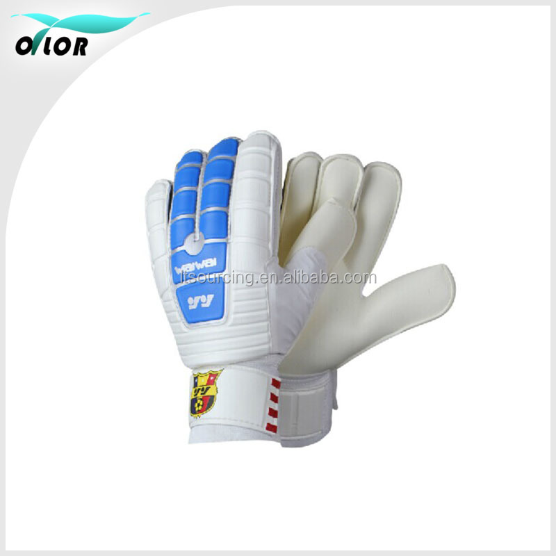Cheap perfessional custom latex soccer ball match goalkeeper gloves