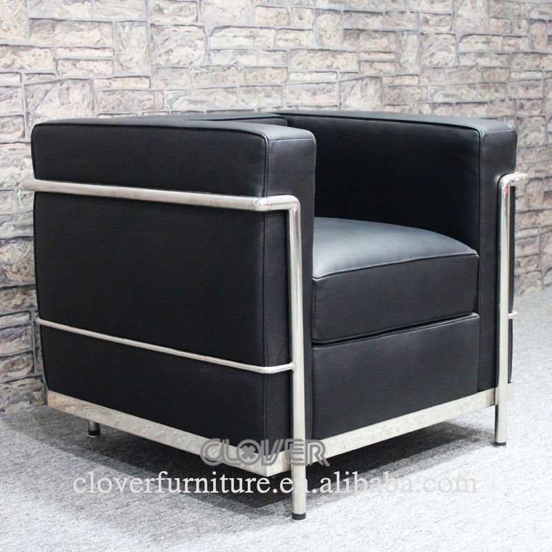 lc2 chaise replica le corbusier lc2 canap chaises de salon id de produit 511918439 french. Black Bedroom Furniture Sets. Home Design Ideas
