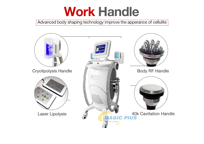 New 2019 Trending Product S15 Vaccum Cavitation RF Fat Freezing Criolipolisis Body Slimming Machine