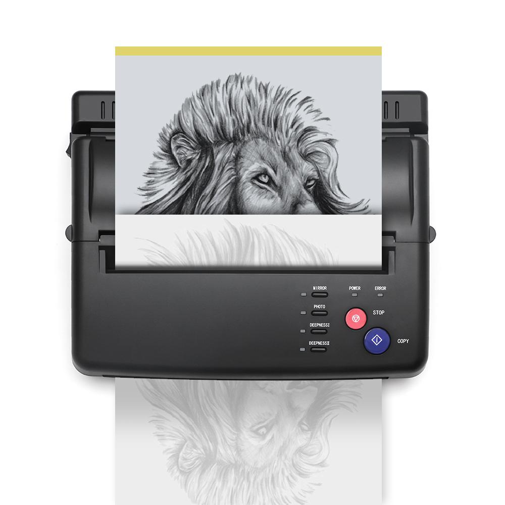 Solong Tattoo liefert schwarzen Thermal Transfer Drucker