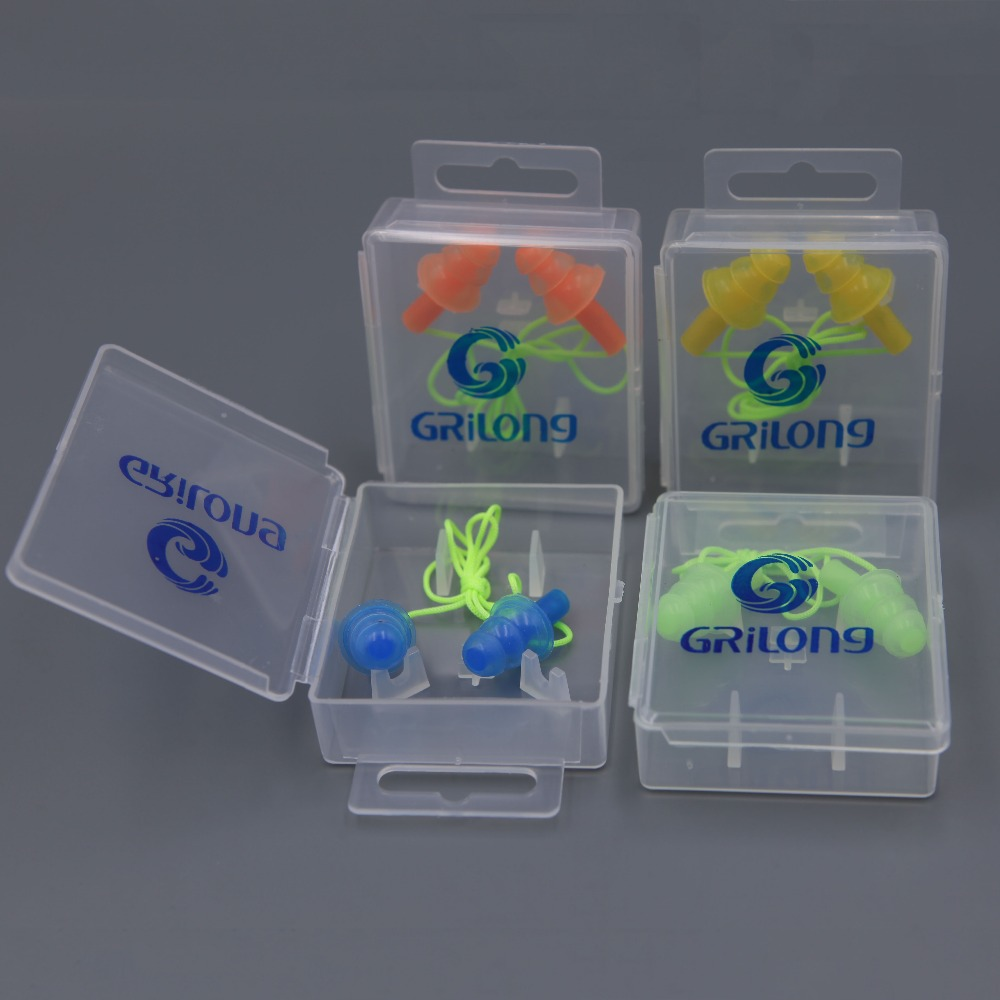 YIwu factory diving equipment wholesale Swimming equipment noseclips and ear plugs sets