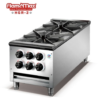 Big Double Burners Hotel Commercial Gas Stove - Buy Cast Iron  Stove,Commercial Kitchen Gas Stoves,2 Burner Gas Stove Top Product on  Alibaba.com