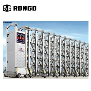 RONGO auto stainless steel folding and retractable gate from China factory