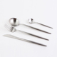 Elegant Silver Matt Finish Stainless Steel Cutlery Set