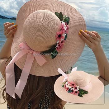 Summer Las Wide Brim Beach Hats Y Chapeau Large Floppy Sun Caps
