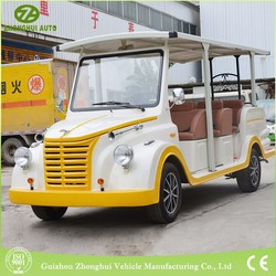Customized electric tourist vehicle passenger vintage car