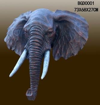 Antika Hayvan Kafa Reçine Fil Kafası Heykel Toptan Buy Antika