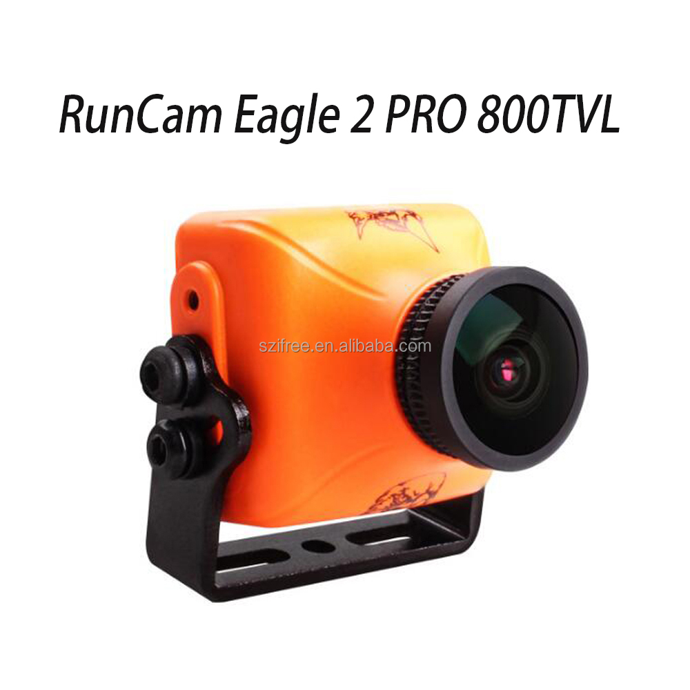 3U-80382 RunCam Eagle 2 PRO 800TVL CMOS 2.1mm/2.5mm 16:9/ 4:3NTSC/PAL Switchable Super WDR FPV Camera Low Latency