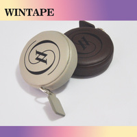 200cm/79 inches new kids promotional PU leather gift item less than 1 dollar tape measure for advertising company brand and name