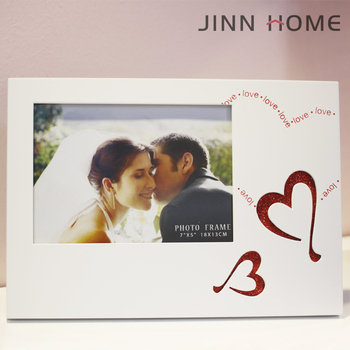 Jinnhome New Design High Quality Eco-friendly Love Shape White 5x7 ...