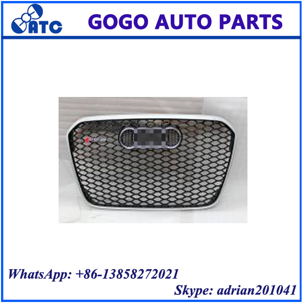 FOR AUDI A6L C7 2013 - 2016 GRILLE UPGRADE TO RS6 GRILLE