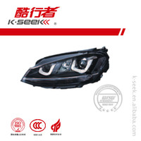 Hot selling Head Lamp replacement for Golf 7 R Series double U