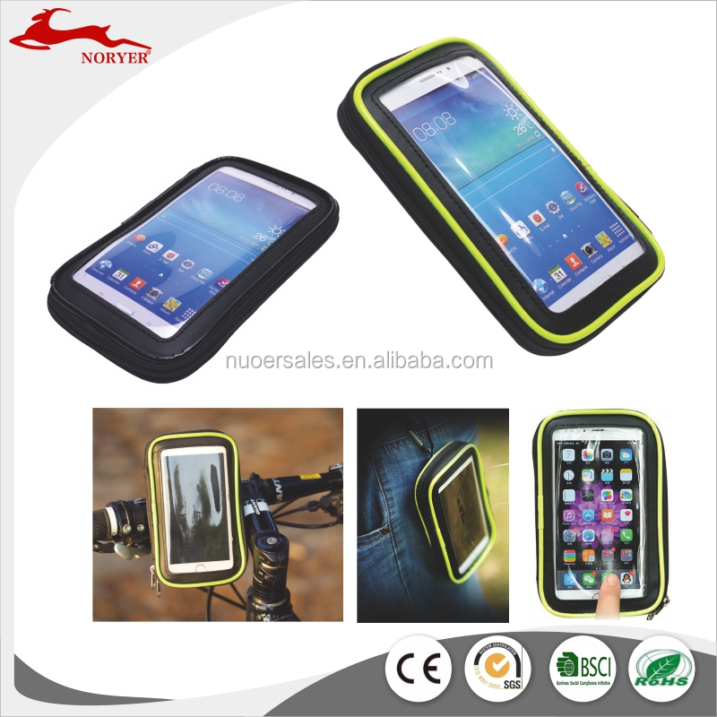 NR16-215 Hot sales waterproof Bicycle cell phone bag for cycling