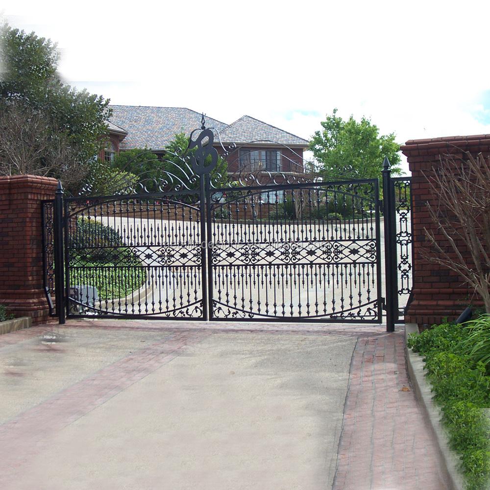 Latest Design Driveway Gates Design Metal House Fence