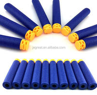 7.2*1.3cm New Design Hollow Soft Foam Refill Darts Bullet for children toy gun