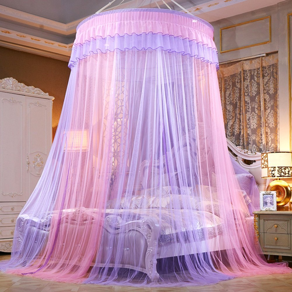 Get Quotations European Palace Wind Dome Bed Canopy Mosquito Net Home Princess Double Encryption Floor