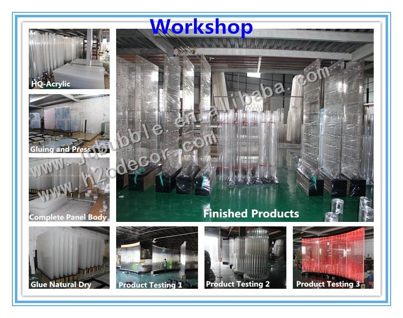 Pareti Dacqua Per Interni : Indoor decor personalizzato fontane per interni acrilico bolla d