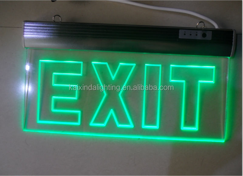 Wall Mounted Emergency Exit Sign 4w With Ce Rosh