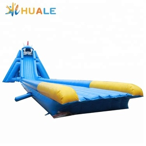 China manufacturer cheap inflatable used big water slides for sale