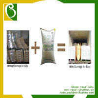 Kraft Paper Cargo Inner Pack Space Stuffing Dunnage Bag