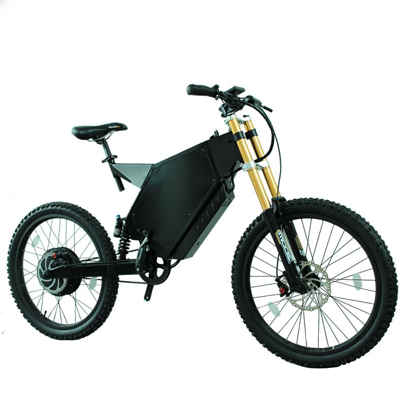 Alibaba.com / 5000 Watt Long Range Ebike 72V 5000W Stealth Bomber Electric Enduro Bike 60MPH Frame Steel Kit Available