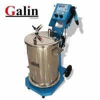 Electrostatic powder coating painting machine Galin TCL-32 for metal surface free shipping