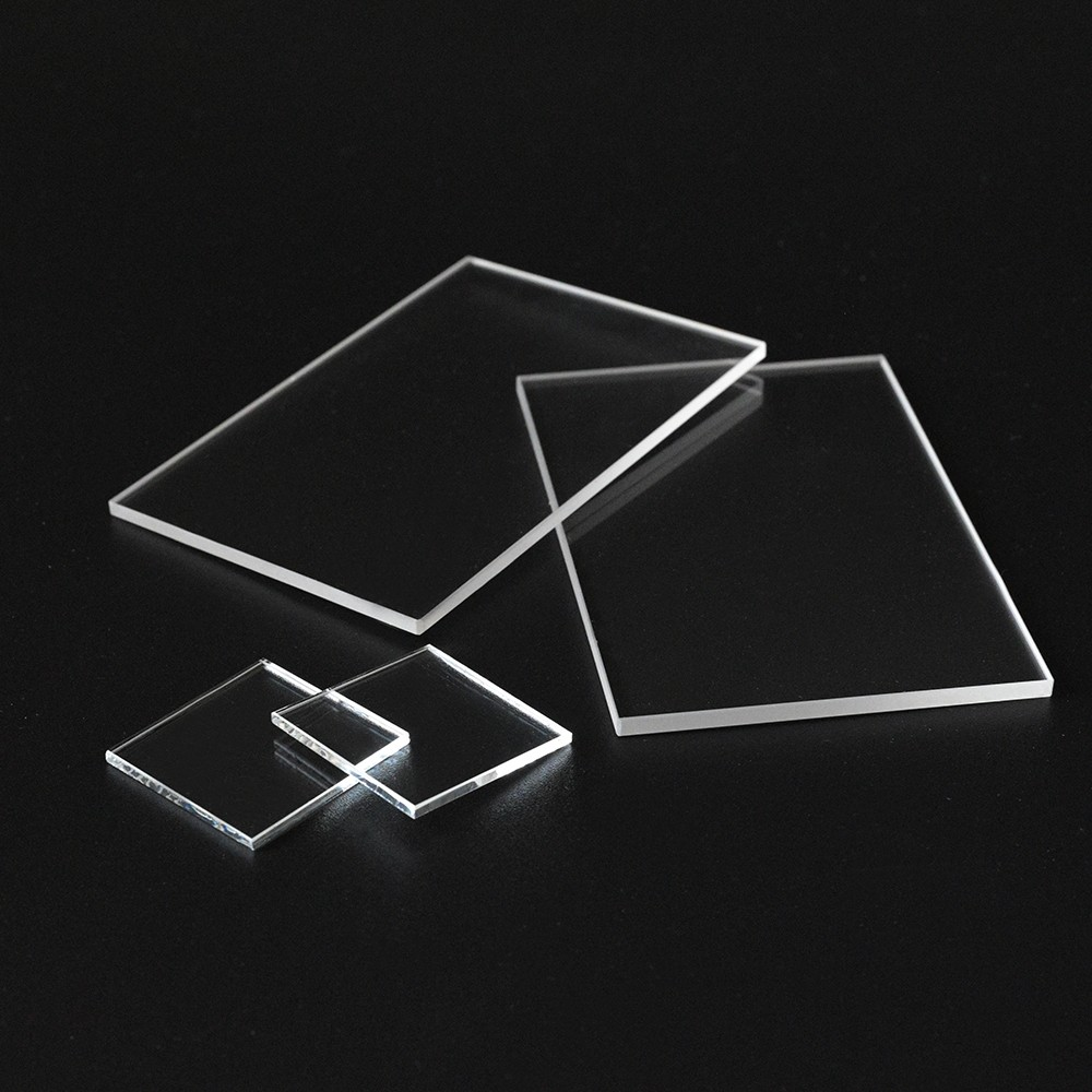 SUCCESS Glass plate OEM size Clear Glass Plates Round fused Silica Quartz glass Disc