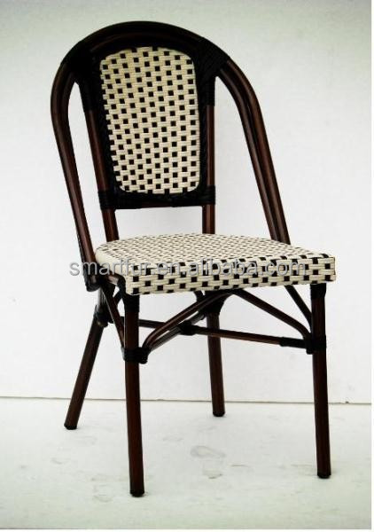 Classical French bistro rattan dining chiar