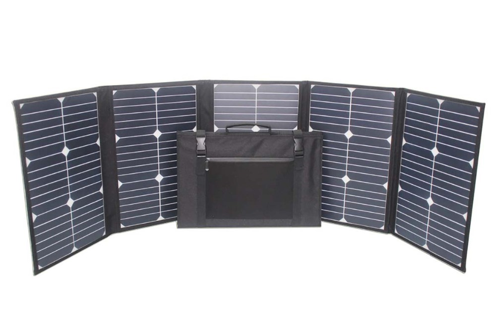 China Manufacturer 100w 18v Sunpower Portable Foldable