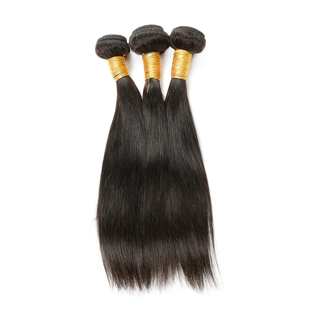 Wholesale Virgin Hair Brazilian Cuticle Aligned Remy Straight Human Hair Extension 100 Natural Brazilian Virgin Hair Bundles, Natural color;other colors are available