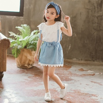 hot sale girls summer clothes 2 pieces sets bulk wholesale kids clothing high quality bulk girls boutique clothes outfits