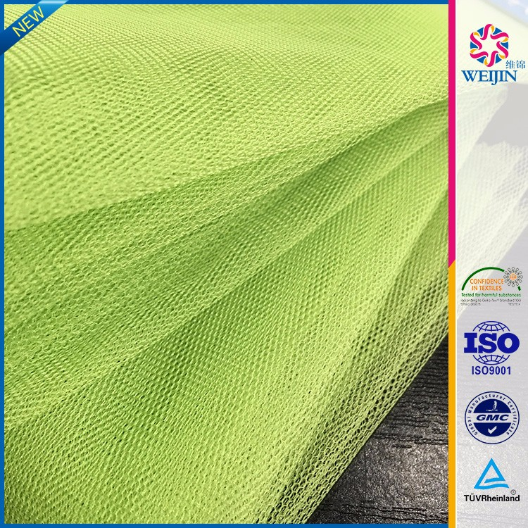 Wholesale kintting Green Net Nylon Fabrics for tutu