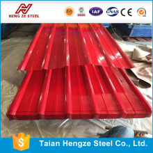 Color coated Corrugated Aluminum Roofing Sheet YX850 thickness 0 . 2 - 1mm