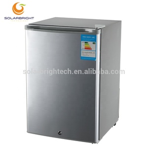 solar power system dc compressor 12V 24V 70L portable outdoor camping solar battery operated refrigerator 24 v