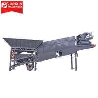 2019 small and medium size mobile ready mix concrete batching plant price