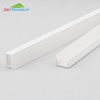 Waterproof Silicon Plastic Extrusion Led Profile Heat Sink,Floor Tiles Pvc Profile Led Extrusion Strip Light Plastic Channel