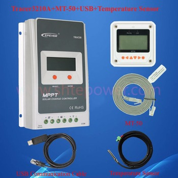 Epever Tracer3210a Surya Controller Mppt 30a 12 V 24 V Auto Max 100 V Input  Panel Surya Baterai Charger Beralih Kontroler 30a - Buy Epever Surya