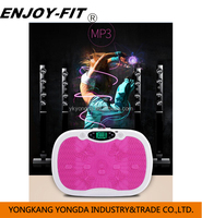 Gym Equipment Body Shaker Vibration Machine with MP3